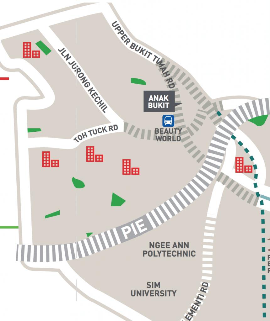 Bukit Timah Master plan Toh tuck road